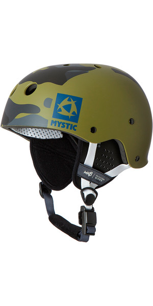 Mystic MK8 X Helmet With Ear Pads Camo 160650