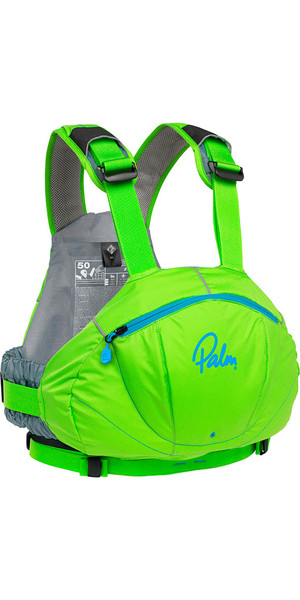 2018 Palm FX Whitewater / River PFD in Lime 11729