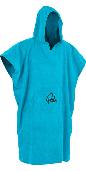 2018 Palm Hooded Changing Robe Poncho BLUE 11847