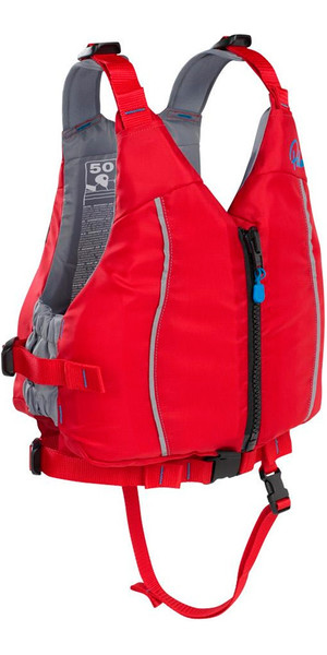 2019 Palm Junior Quest 50N Buoyancy Aid Red 11460