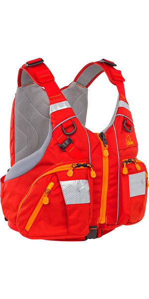 2018 Palm Kaikoura Buoyancy Aid Touring PFD Red 11730