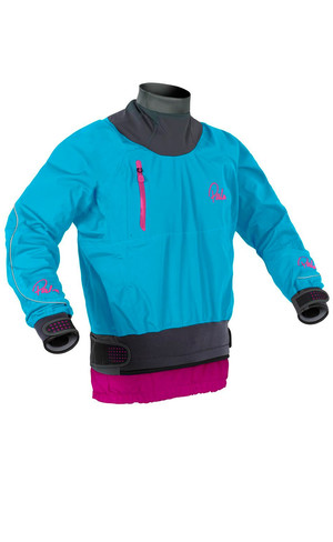 2018 Palm Womens Zenith Whitewater Jacket Aqua 11441