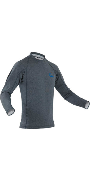 2019 Palm Tsangpo Crew Long Sleeve Thermal Top Jet Grey 11779