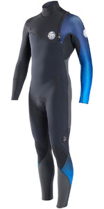 Rip Curl E-Bomb Pro 5/3mm GBS Zip Free Wetsuit BLUE WSM6PE