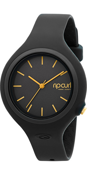 2018 Rip Curl Womens Aurora Surf Watch BLACK / GOLD A2696G