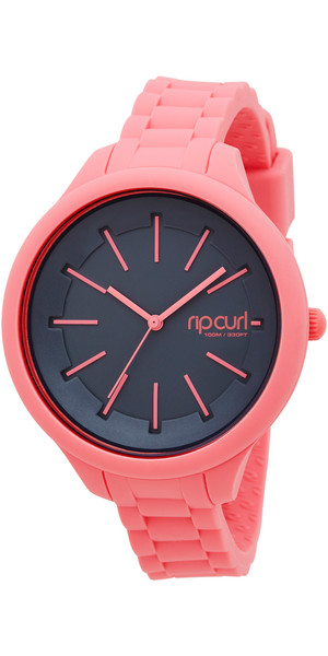 Rip Curl Womens Horizon Silicone Surf Watch in PEACH A2803G
