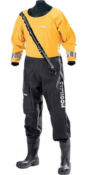 Typhoon Woss Commercial Heavy Duty Breathable Drysuit 120111 BLACK / YELLOW