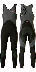 2020 Yak Kayak 'Step In' 3mm Long John Wetsuit Grey / Black  5405-A