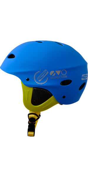 2018 Gul Evo Junior Watersports Helmet BLUE / FLURO YELLOW AC0104-B3