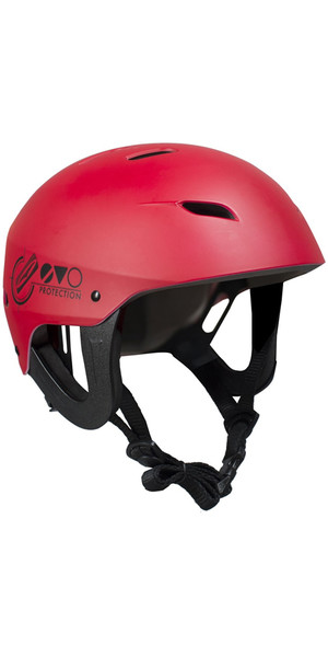 2018 Gul Evo Junior Watersports Helmet RED AC0104-B3