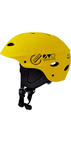 2018 Gul Evo Junior Watersports Helmet Yellow AC0104-B3
