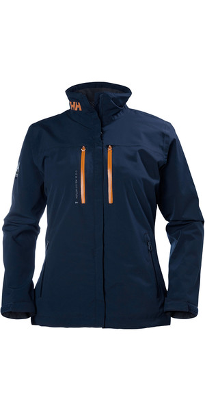 2018 Helly Hansen Ladies Crew H2Flow Jacket NAVY 33892