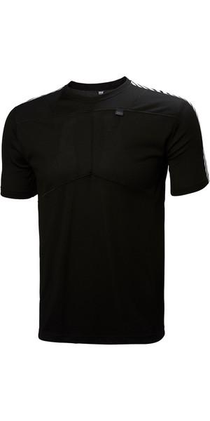 2018 Helly Hansen Lifa T Shirt BLACK 48304