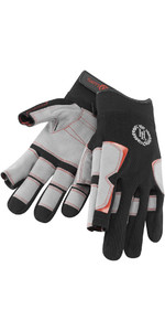 Henri Lloyd Deck Grip Long Finger Glove BLACK Y80055