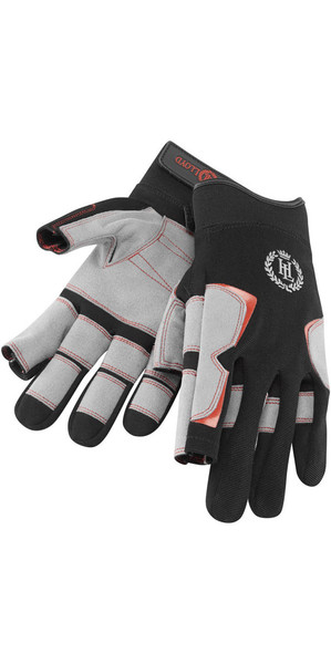 2018 Henri Lloyd Deck Grip Long Finger Glove BLACK Y80055