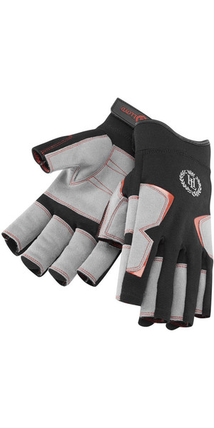 2018 Henri Lloyd Deck Grip Short Finger Glove BLACK Y80056