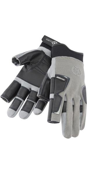 2018 Henri Lloyd Pro Grip Long Finger Glove TITANIUM Y80053
