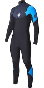 Rip Curl E-Bomb 4/3mm Chest Zip Wetsuit BLUE WSM7BE