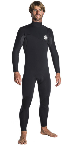 2018 Rip Curl E-Bomb Pro 3/2mm Zip Free Wetsuit BLACK WSM7RE