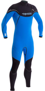 2019 Typhoon Kona 3/2mm GBS Chest Zip Wetsuit ELECTRIC BLUE 250701