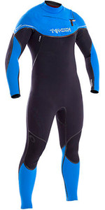 2019 Typhoon Kona 5/4/3mm GBS Chest Zip Wetsuit BLACK / Blue 250611