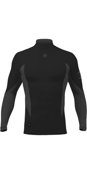 2018 Zhik Long Sleeve Spandex Top BLACK TOP61