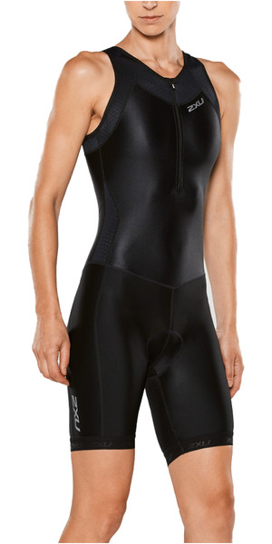 2XU Ladies X-Vent Front Zip Trisuit BLACK WT4365D
