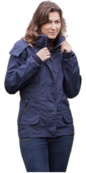 Baleno Dynamica Ladies Waterproof Jacket Navy 19828