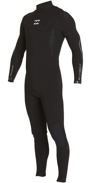 2018 Billabong Furnace Comp 5/4mm Zip Free Wetsuit BLACK F45M15