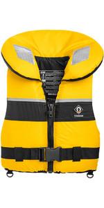 2019 Crewsaver Junior Spiral 100n Life Jacket Yellow Black 2820 Large Child & Junior