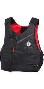 2021 Crewsaver Junior Pro 50N Chest Zip Buoyancy Aid Black / Red 2630J