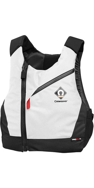 2018 Crewsaver Pro 50N Chest Zip Buoyancy Aid White 2631