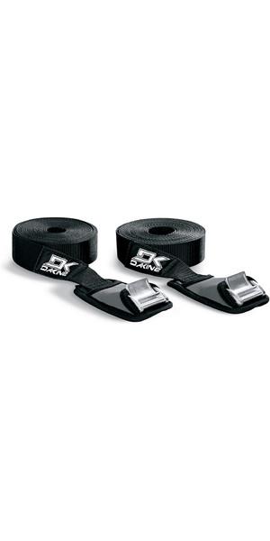 2018 Dakine Baja 12' 3.6m Tie Down Straps BLACK 8840560