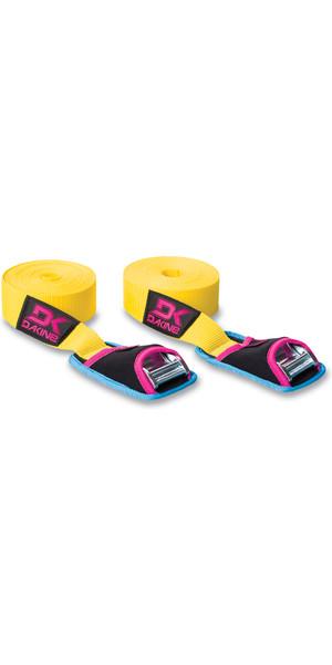 2018 Dakine Baja 12' 3.6m Tie Down Straps YELLOW 8840560