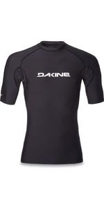 Dakine Heavy Duty Snug Fit Short Sleeve Surf Shirt BLACK 10001018