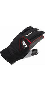 2020 Gill Championship Long Finger Sailing Gloves Black 7252