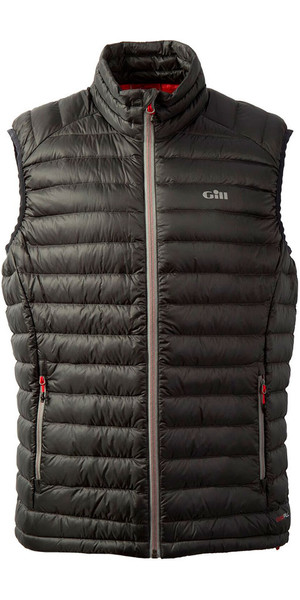 2019 Gill Hydrophobe Down Gilet Charcoal 1063