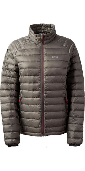2018 Gill Ladies Hydrophobe Down Jacket Pewter 1062W