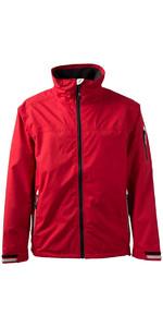 Gill Men's Crew Jacket in Red 1041