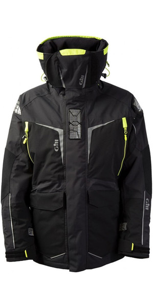2019 Gill Mens OS1 Offshore Ocean Jacket Graphite OS12J