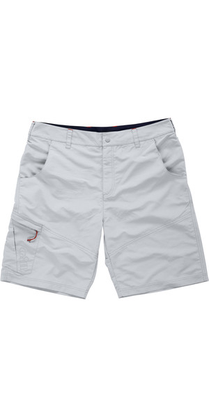 2018 Gill Mens UV Tec Shorts SILVER GREY UV005