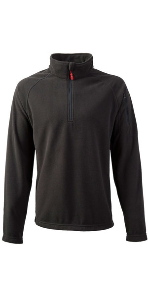 2018 Gill Thermogrid Zip Neck Fleece Graphite 1370