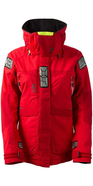 2018 Gill Women's OS2 Jacket Red OS23JW