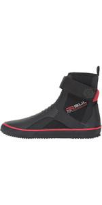 2018 Gul All Purpose Lace 5mm Boot BLACK / RED BO1304-B2