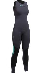 2020 Gul Womens Code Zero 3mm Long John Wetsuit JET CZ4208-B2