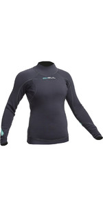 2019 Gul Womens Code Zero 3mm Long Sleeve Thermo Top JET AC0113-B2