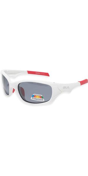 2018 Gul Saco Floating Sunglasses White / Red SG0008-B2