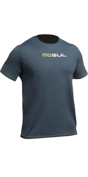 2018 Gul Tee Fit Short Sleeve Rash Vest ASH RG0366-B2