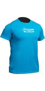 2019 Gul Tee Fit Short Sleeve Rash Vest CRIP (BLUE) RG0366-B2