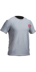 2019 Gul Tee Fit Short Sleeve Rash Vest MARL RG0366-B2